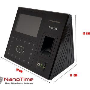 دستگاه حضور و غیاب تشخیص نانوتایم مدلUFACE 402