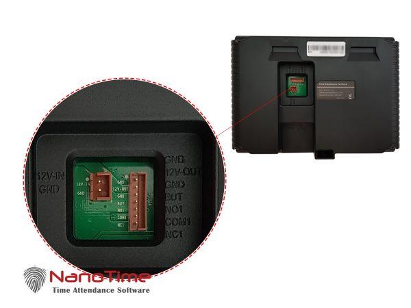 دستگاه حضور و غیاب اثر انگشت نانوتایم مدل K30