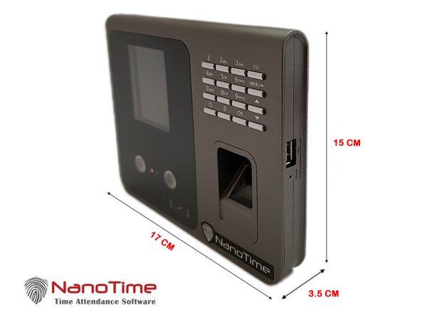 دستگاه حضور و غیاب نانوتایم مدل SEMI OUTDOOR 8000